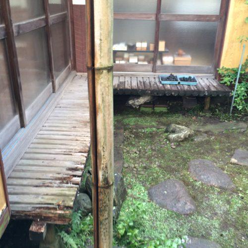 東京都杉並区の濡れ縁工事 施工前
