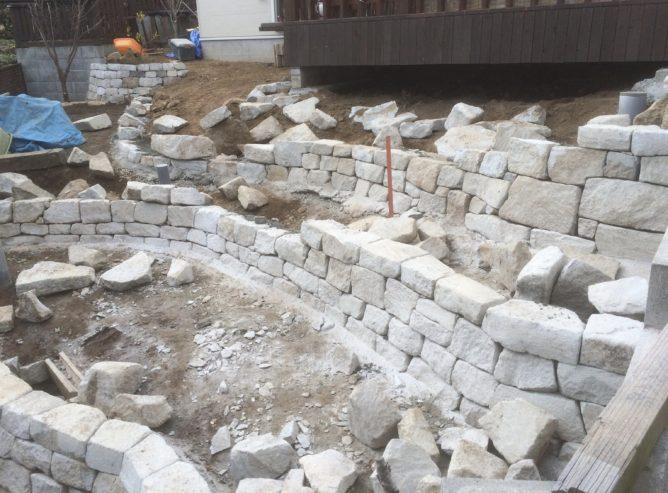 石積み用石