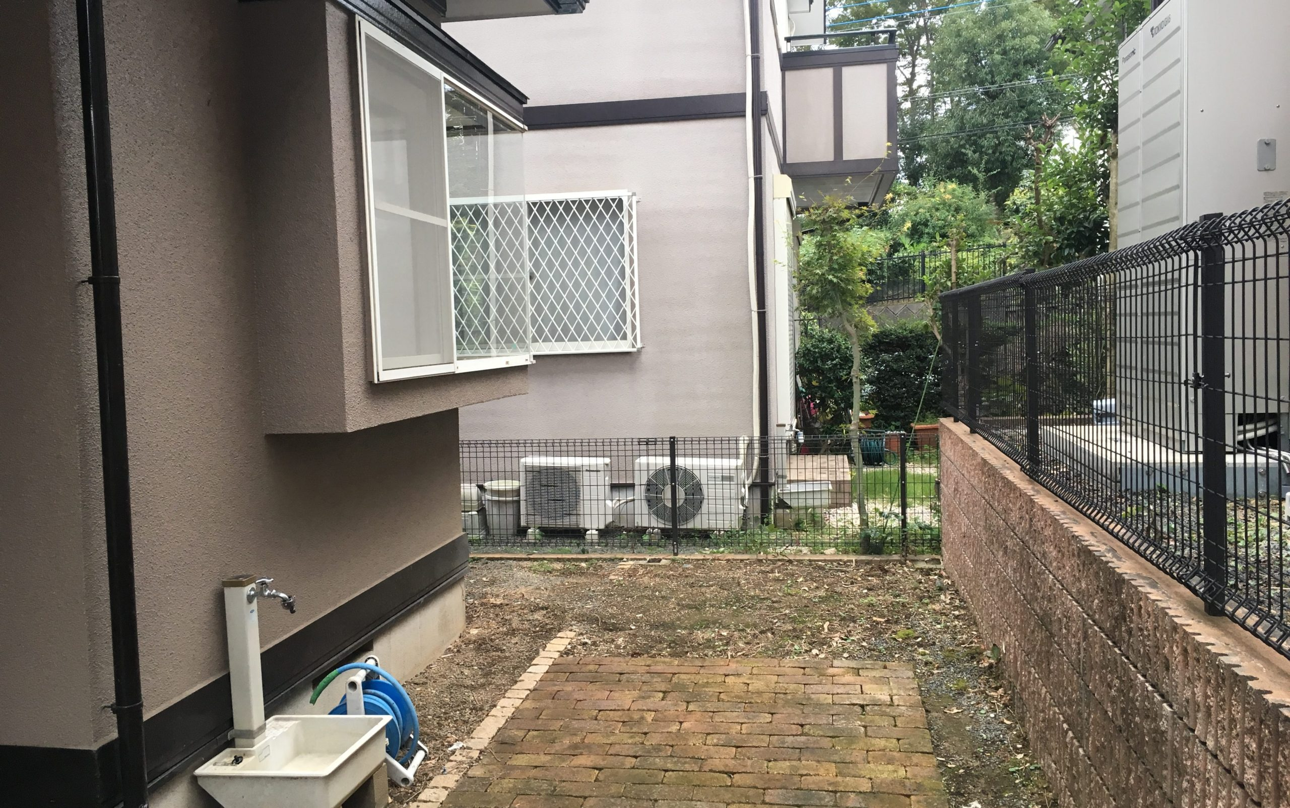 庭工事の施工前